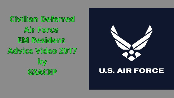 Air Force Civilian Deferred Resident Advice Panel - 2017